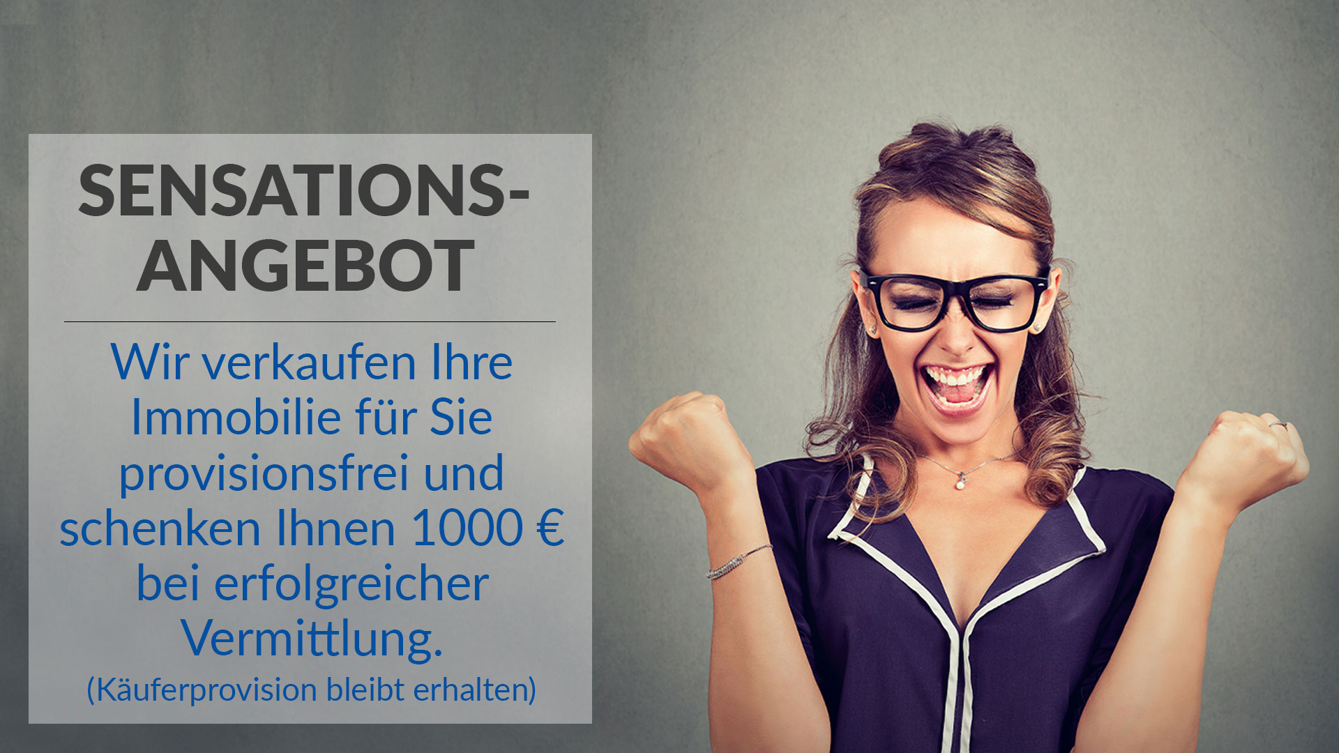 Sensations-Angebot Immobilienzentrum